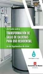Jornada sobre transformación de salas de calderas para uso residencial
