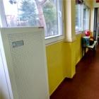 Giacomini dona KH2R Clean Air clínicas escuelas