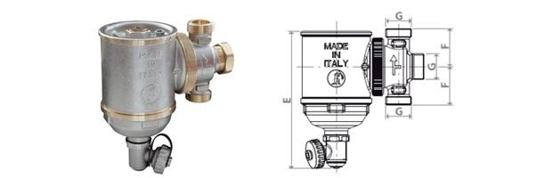 ventajas Giacomini R146C